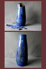 20th century Baron-Barnstaple fish vase