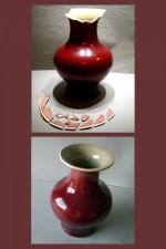Sang de Boeuf Vase