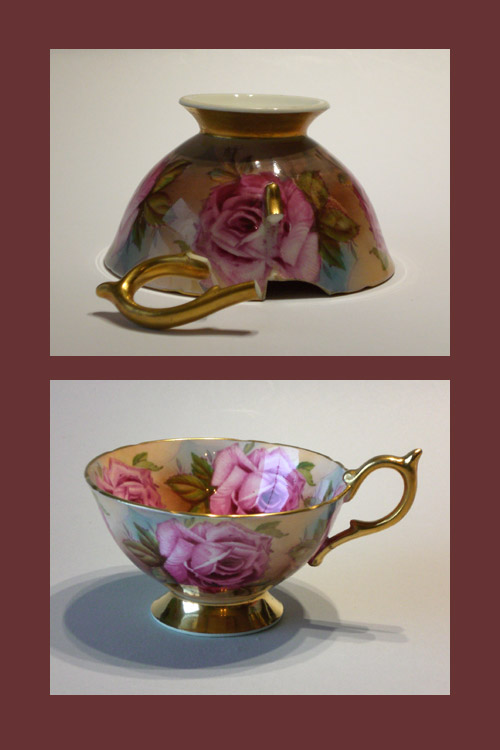Rose Teacup for repair