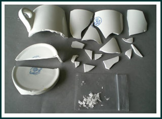 Collecting Damaged Ceramics