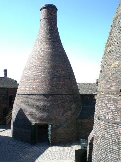 Staffordshire Bottle Kilns